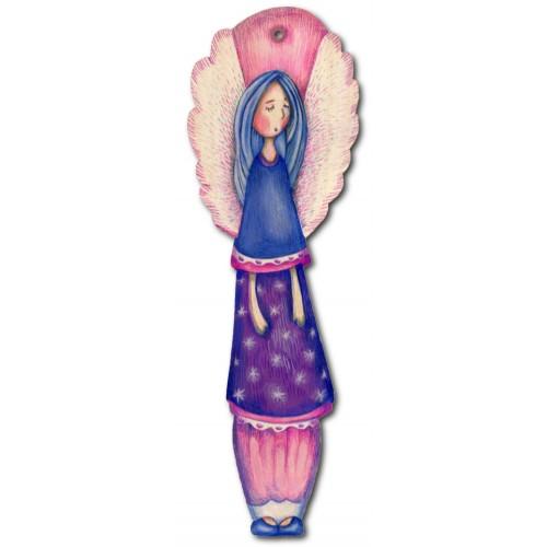 Anioł Różowy - dekor średni