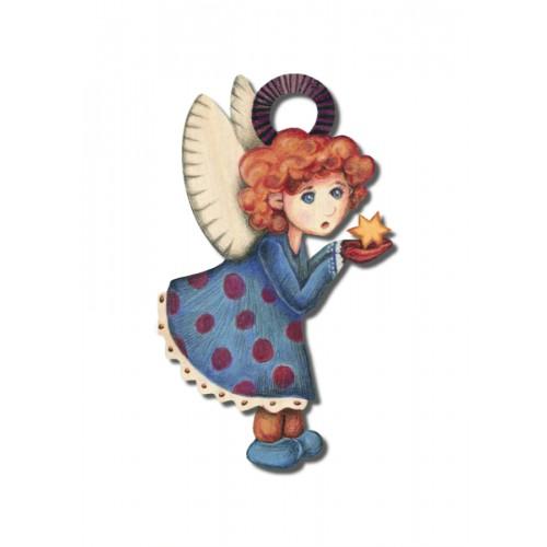 Anioł Rudzielec II - magnes...