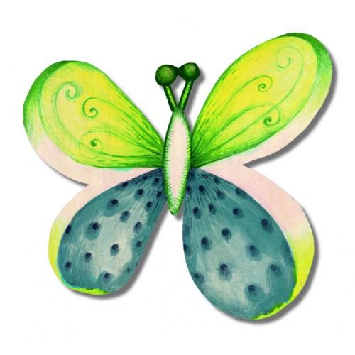 Motyl - magnes średni