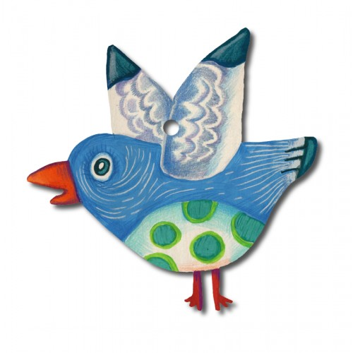 Niebieski ptaszek -...