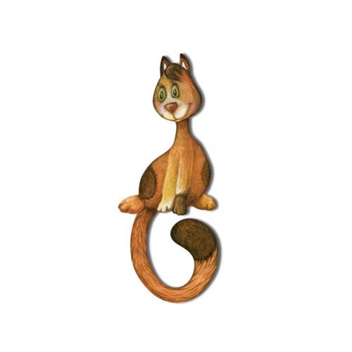 Kot rudy - magnes duży
