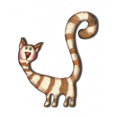 Kot Skarpetka - dekor średni